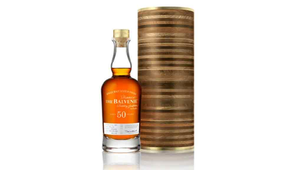 The Balvenie - 50 anos (US $ 50.000)
