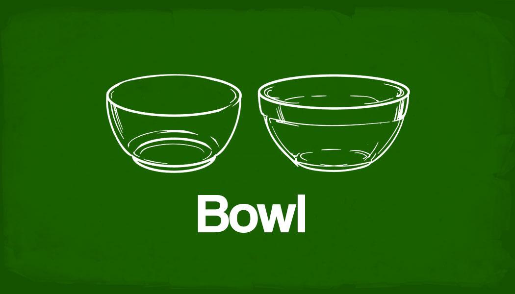 O que é um bowl na culinária?