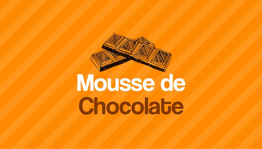 Receita fácil de Mousse de Chocolate