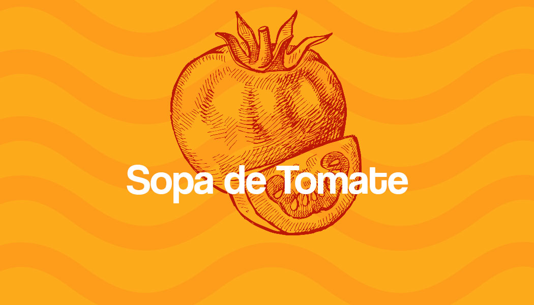 Receita fácil de Sopa de Tomate