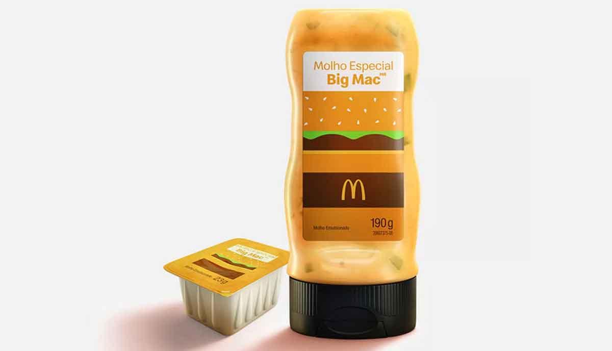 Pela primeira vez o McDonald's colocará seu molho especial secreto a venda. Foto: Divulgação