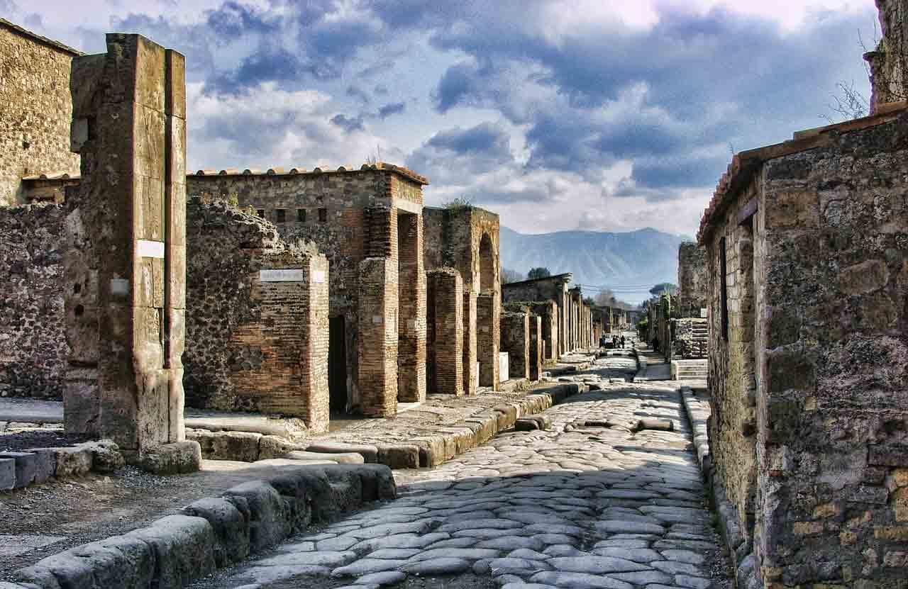 Fast-food da antiguidade é encontrado em Pompeia na Itália. Foto: Pixabay