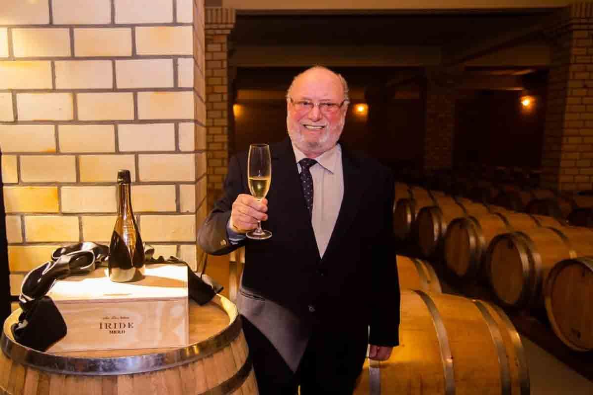 Morreu Darcy Miolo, fundador da Miolo Wine Group. Foto: Divulgação