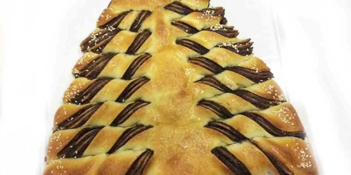 Ana Maria Braga ensina receita de árvore de creme de avelã. Foto: reprodução Twitter